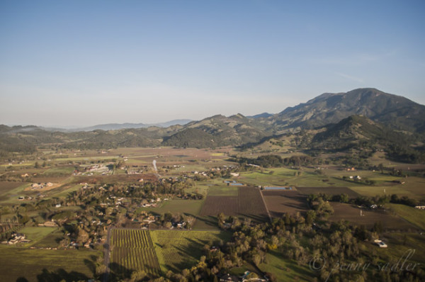Flying high over napa valley @PennySadler 2014