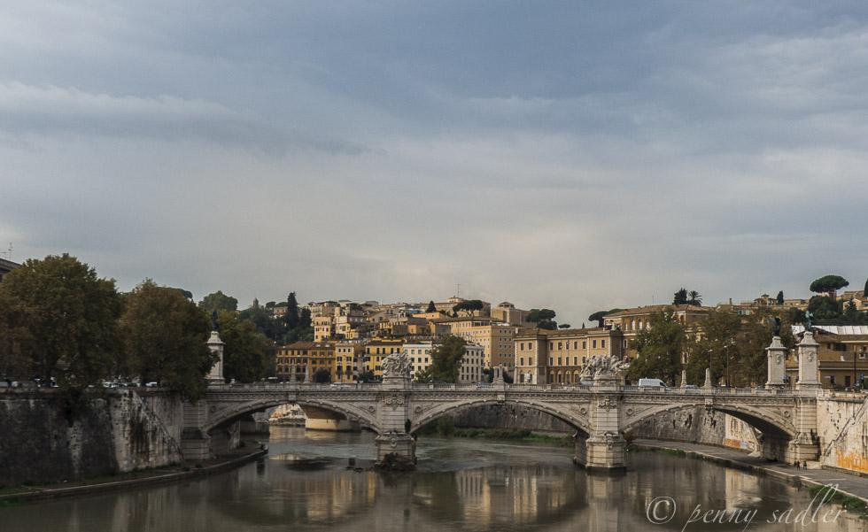 Ponte Sant Angelo Rome, Italy @PennySadler 2014