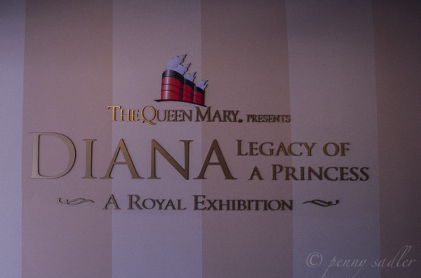 Princess diana exhibit Queen mary