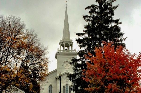 Autumn Market Colors, Cazenovia, NY @PennySadler