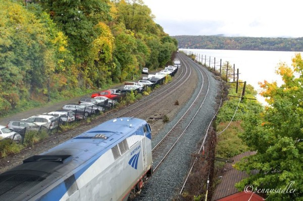 The Amtrak Train from Rhinecliff to NYC @PennySadler
