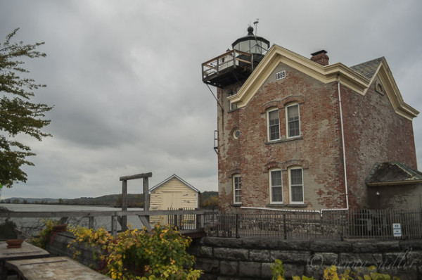 The Saugerties Lighthouse is a Bed and Breakfast in Saugerties,New York @PennySadler 2014