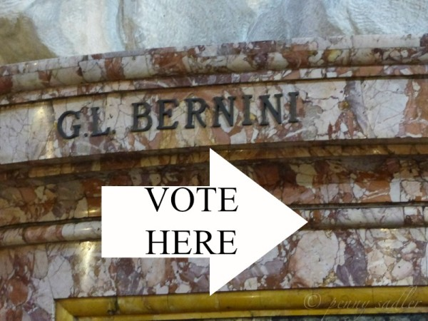 Vote! Bernini Italy and Me