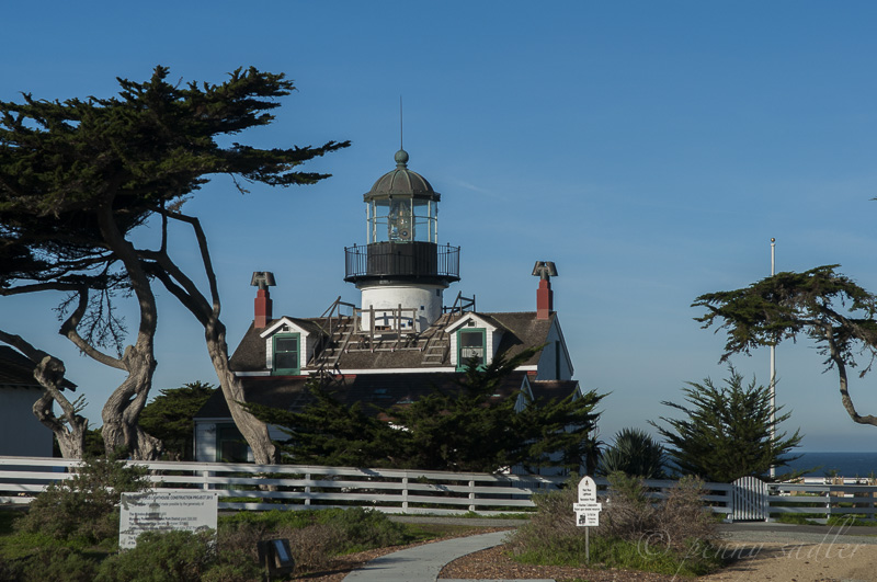 Point Pinos Lighthouse Highway 1 California