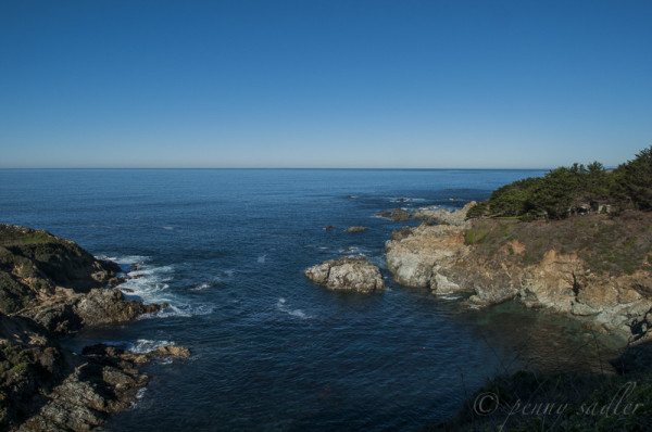 The Pacific Ocean near Big Sur, from, Ultimate California Road trip @PennySadler