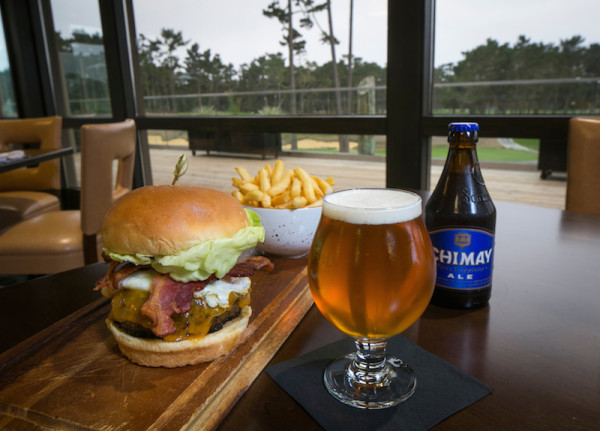 Burger and Beer Golf Meets Gourmet At Porter's In The Forest, Pebble Beach, California