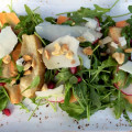 arugula salad Golf and Gourmet Dining in Pebble Beach California @PennySadler