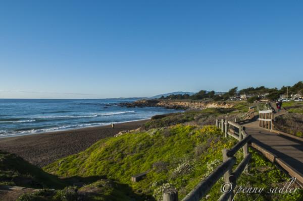 The Boardwalk at Moonstone Beach