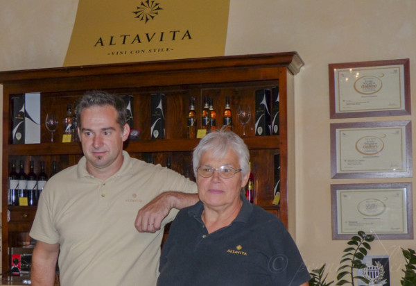 Altavita winery owners from, How Wine and Travel Led to my WSET education