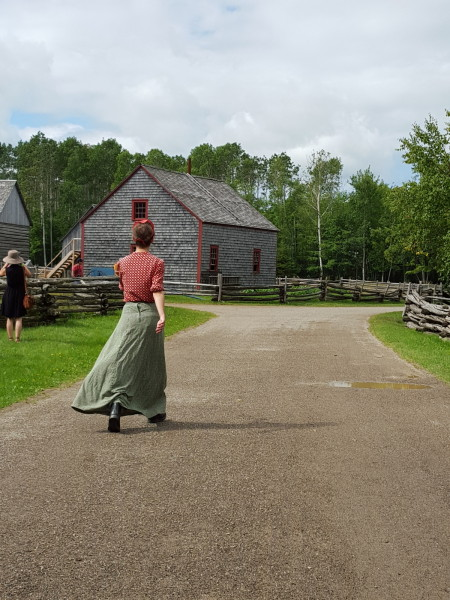 New Brunswick Colors of Acadian history , Follow the path of New Brunswick's history at Village Historique Acadien