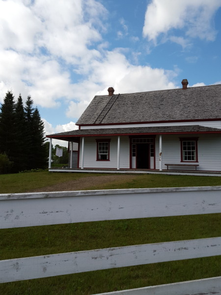 A newer house (1890) at Village Historique Acadien