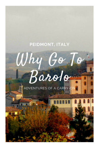 Barolo, Italy is a UNESCO world heritage site and home to some of Italy's most prized wine of the same name. The Unesco region is called the Langhe and known for the prized Nebbiolo grapes which become Barolo.