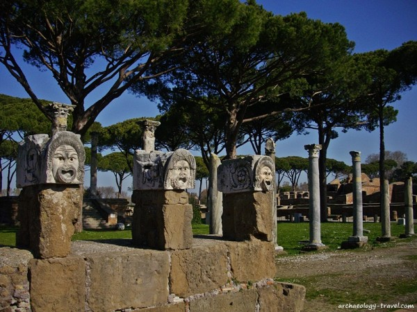 Memorable Moments in Italy 2015 Ostia antica Italy archaeology travels
