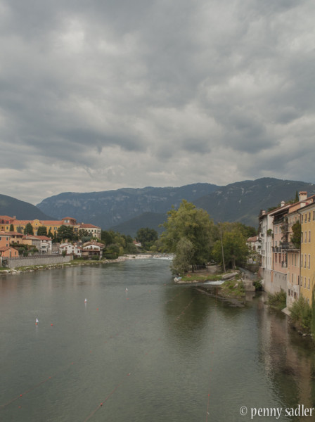 romantic day Bassano del grappa @PennySadler 2016