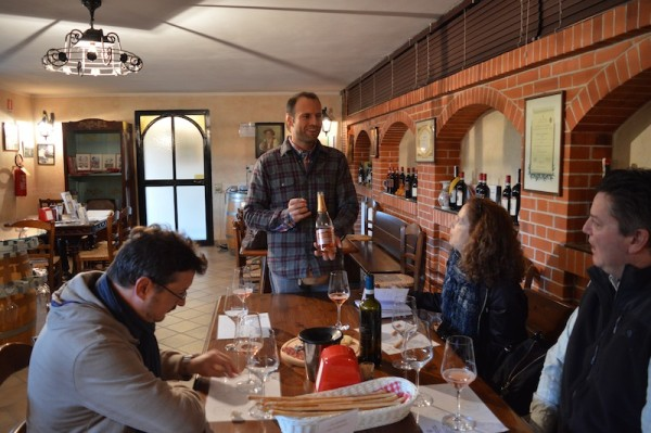 A beautiful tasting and tour, francone Neive Italy