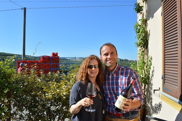 A beautiful winery and tour Francone Neive Italy