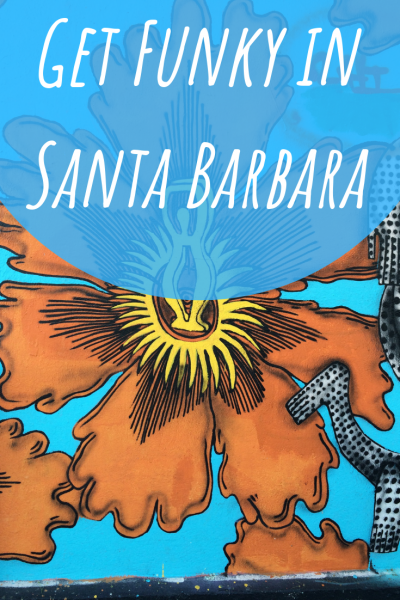 Santa Barbara's Funk Zone is a colorful neighborhood of bars, cafes and shopping in walking distance of the beach and harbor. #SeeSB #California