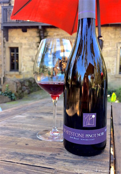 Whetstone Pinot Noir, Jon boat vineyards