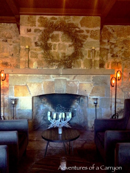 Cozy atmosphere at whetstone wine cellars