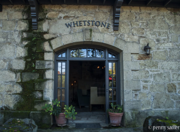 entrance to whetstone wine cellars