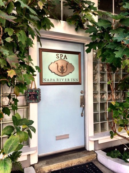 Napa River Inn Spa entrance