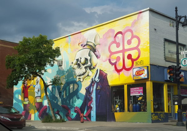 Postcard Montreal: Street Art