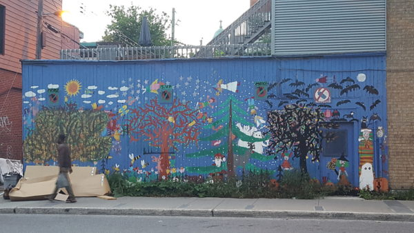 Postcard from Montreal: Street Art