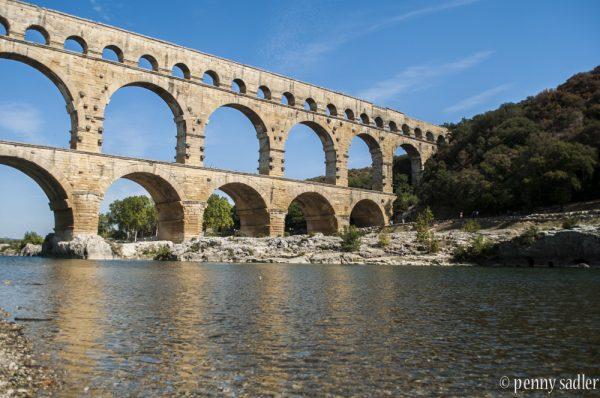 Pont du Gard aqueduct in southern France