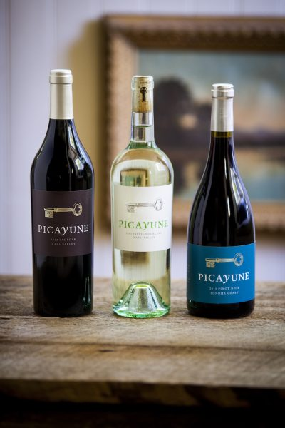 picayune cellars wine selection