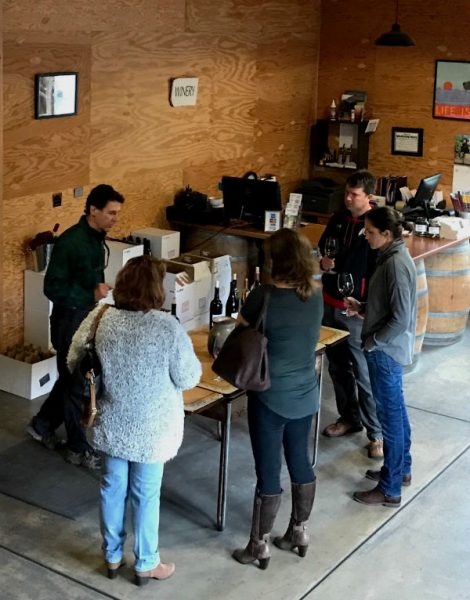 Tasting Room Vincent Arroyo Winery, The Pefect Time To Visit Napa and Sonoma is now