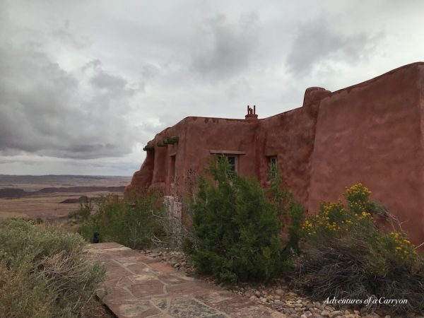 the painted desert Inn and museum