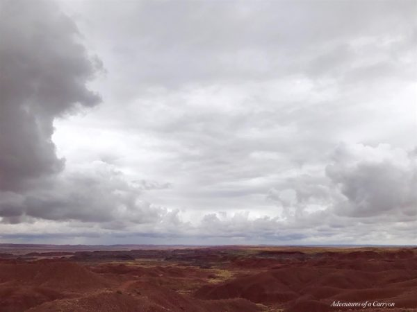 the painted desert, Arizona landscape