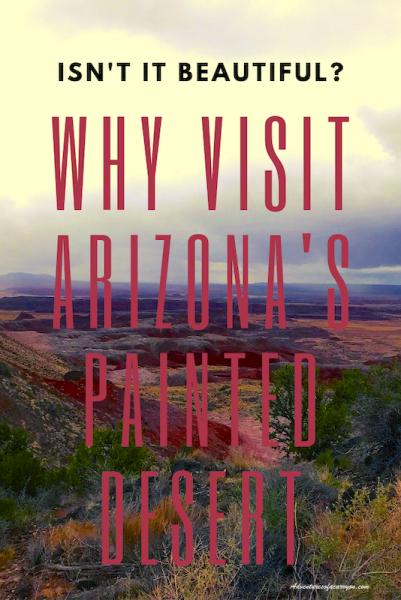 Arizona Painted Desert, Pinterest image