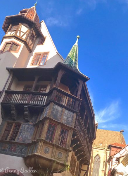 Pfister House, Colmar. From Wine, Castles and Culture Top Reasons To Visit Riquewihr, Alsace.