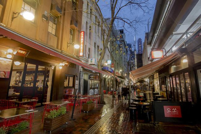 kirk's wine bar in Melbourne Australia