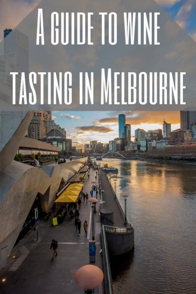 Wine tasting in Melbourne Australia