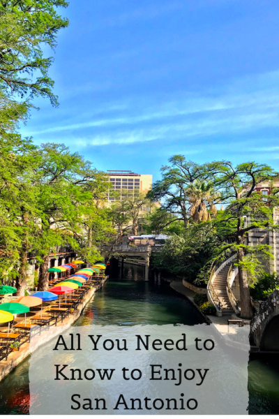Pinterest image - enjoy San Antonio