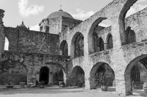 mission San Jose, covent in San Antonio