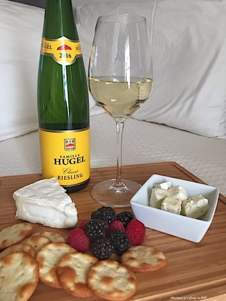 Riesling and goat cheese, a match made in Heaven