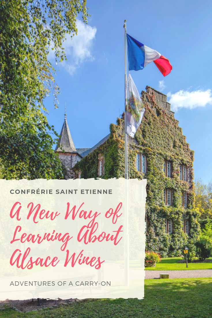 Pinterest image- a new way of learning about Alsace wines
