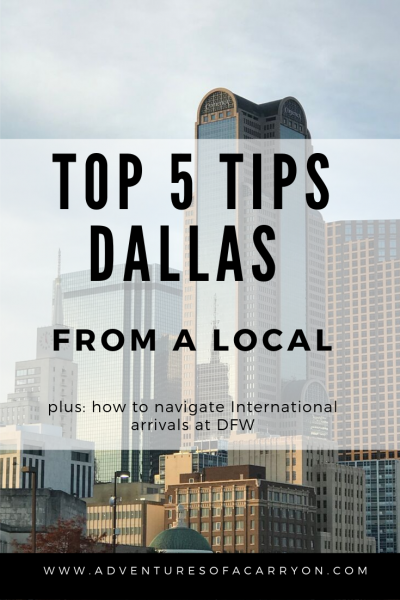 Top 5 Not To Be Missed Attractions in Dallas by local Penny Sadler