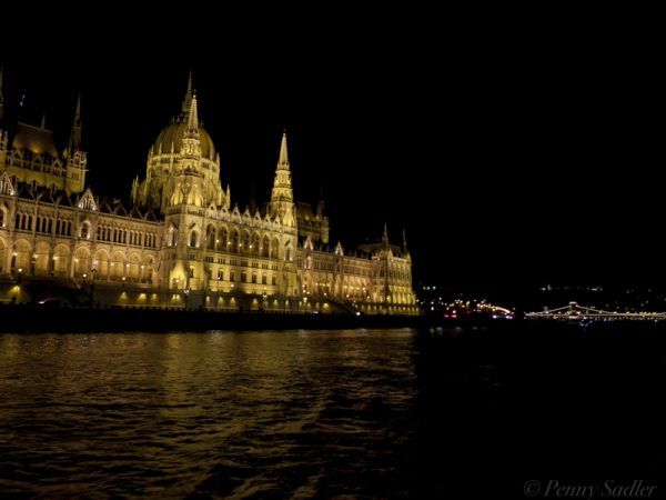 Budapest at night, from How to make the most of shore excursions