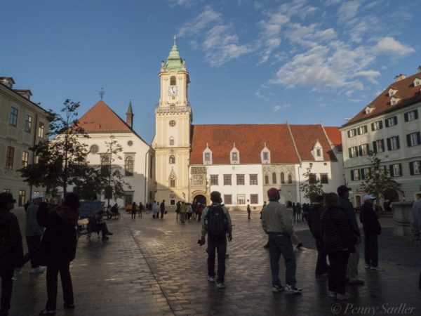 Bratislava town hall from How to make the most of shore excursions Viking's Daanube Waltz