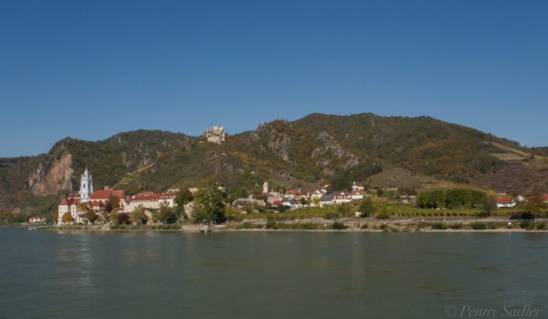 Durnstein castle Wachau Valley ©PennySadler 2020