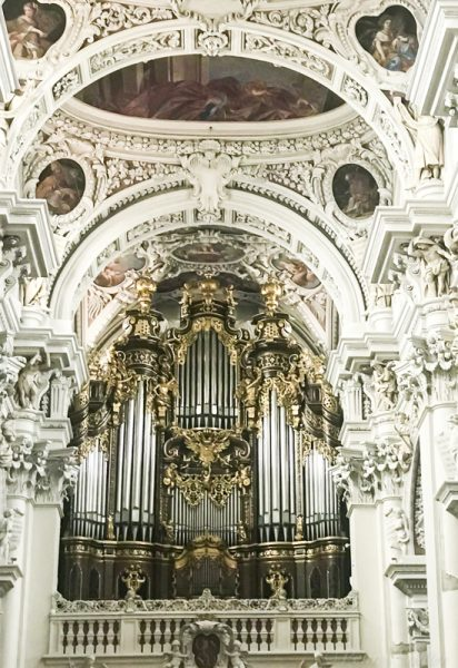 pipe organ St. Stephen's Passau, Germany from How To Make The Most of Shore excursions, Viking Danube Waltz