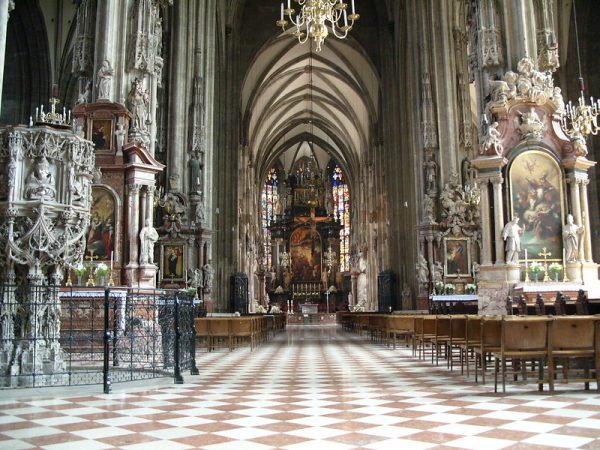 St Stephen's cathedral, Vienna, Austria from How to make the most of shore exclusions