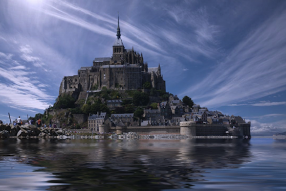 Mont Saint Michel, Normandy France