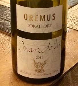 Oremus Tokaji from Discover the Best Hungarian Wines at Tasting Table Budapest
