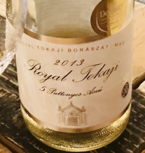 Royal Tokaji Tasting Table Budapest