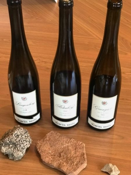 Terroir Wines of Domaine Deiss Alsace Rocks